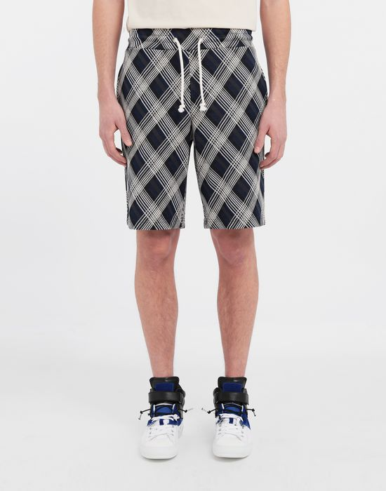 MAISON MARGIELA Checked jersey shorts Shorts [*** pickupInStoreShippingNotGuaranteed_info ***] r
