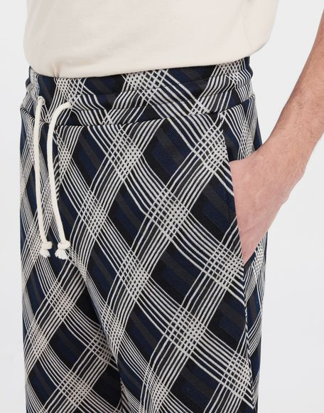 MAISON MARGIELA Checked jersey shorts Shorts and Bermudas Man a