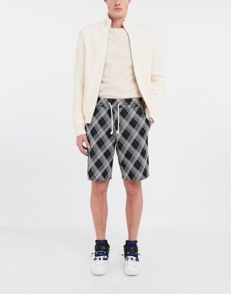 MAISON MARGIELA Checked jersey shorts Shorts and Bermudas Man d