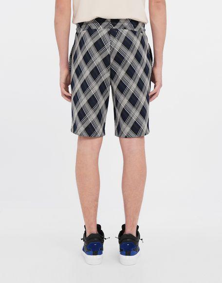 MAISON MARGIELA Checked jersey shorts Shorts and Bermudas Man e