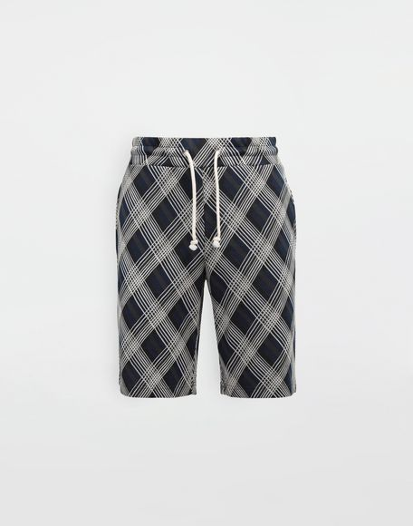 MAISON MARGIELA Checked jersey shorts Shorts and Bermudas Man f
