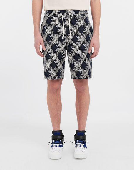 MAISON MARGIELA Checked jersey shorts Shorts and Bermudas Man r