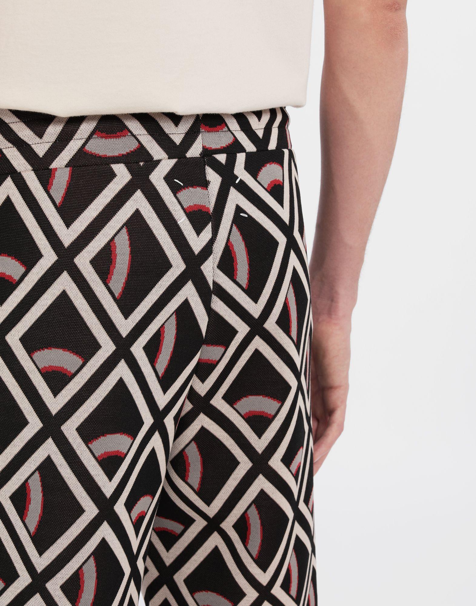 MAISON MARGIELA Checked jersey shorts Shorts and Bermudas Man b