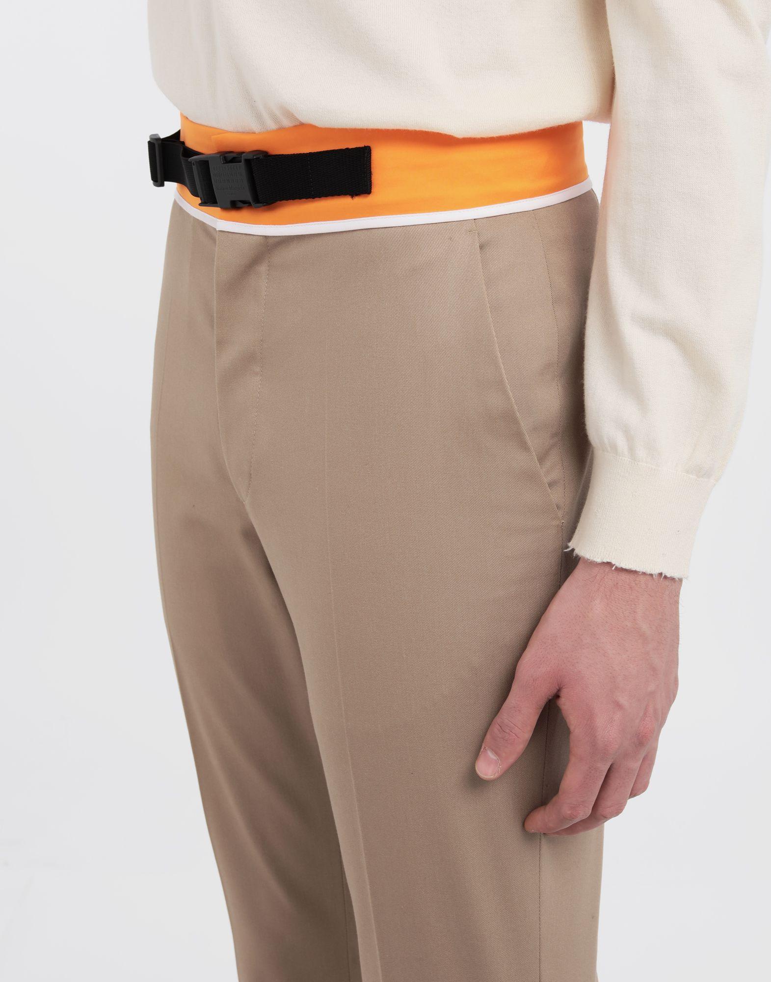 MAISON MARGIELA Spliced gabardine pants Casual pants Man a