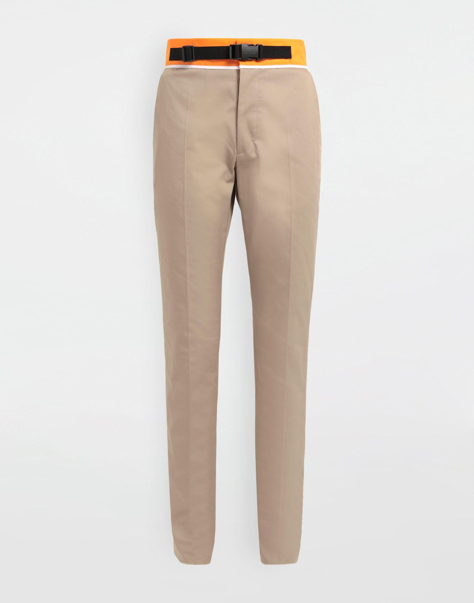 MAISON MARGIELA Spliced gabardine pants Casual pants Man f