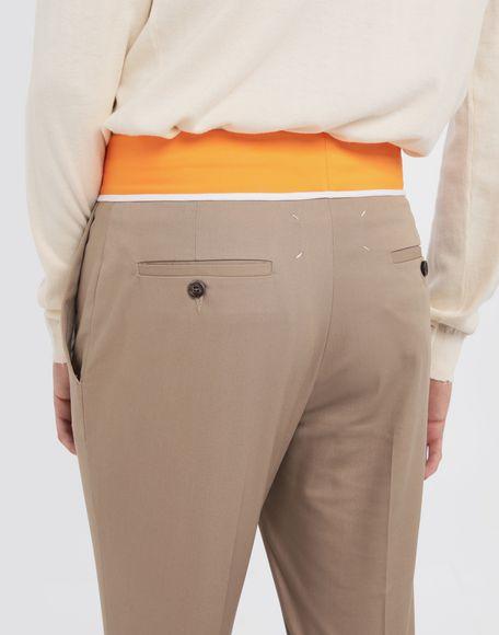 MAISON MARGIELA Spliced gabardine pants Casual pants Man b