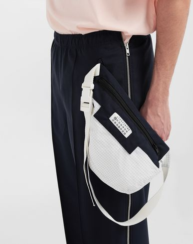 PANTS Bumbag pocket lining pants Blue
