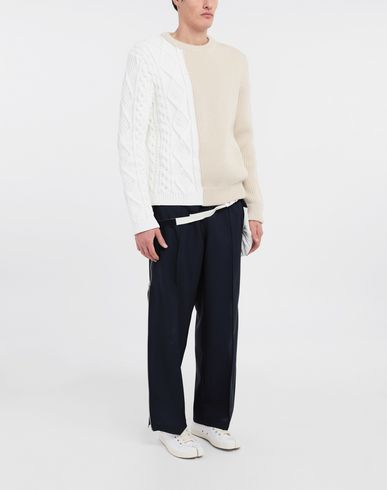 TROUSERS Bumbag pocket lining pants Blue