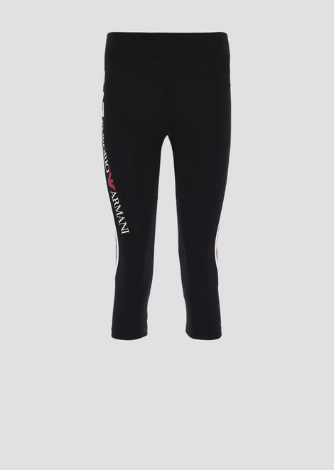 Three-quarter leggings in Ventus7 technical fabric