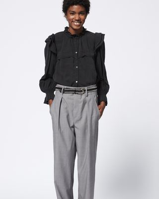 ISABEL MARANT ÉTOILE TROUSER Woman NURA trousers r