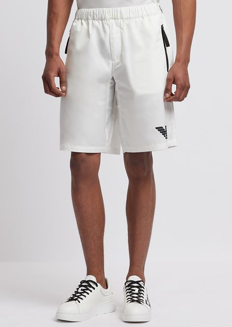 R-EA-MIX shorts in tech twill with reflective details