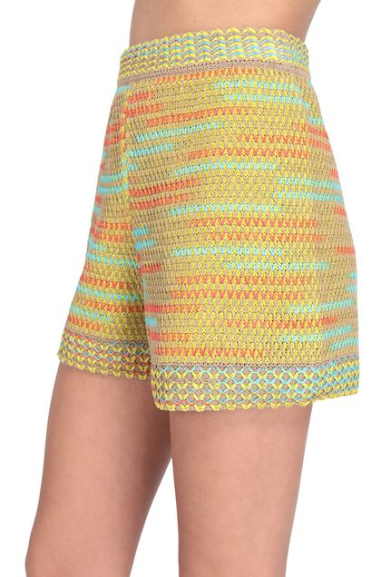 M MISSONI Shorts Ochre Woman - Front