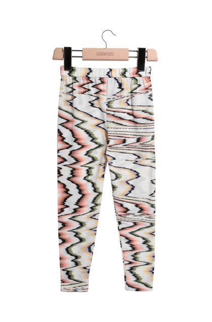 MISSONI KIDS Leggings  Bianco Donna - Retro