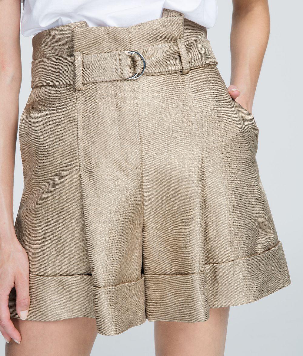 KARL LAGERFELD High-Waist Shorts Shorts Woman d