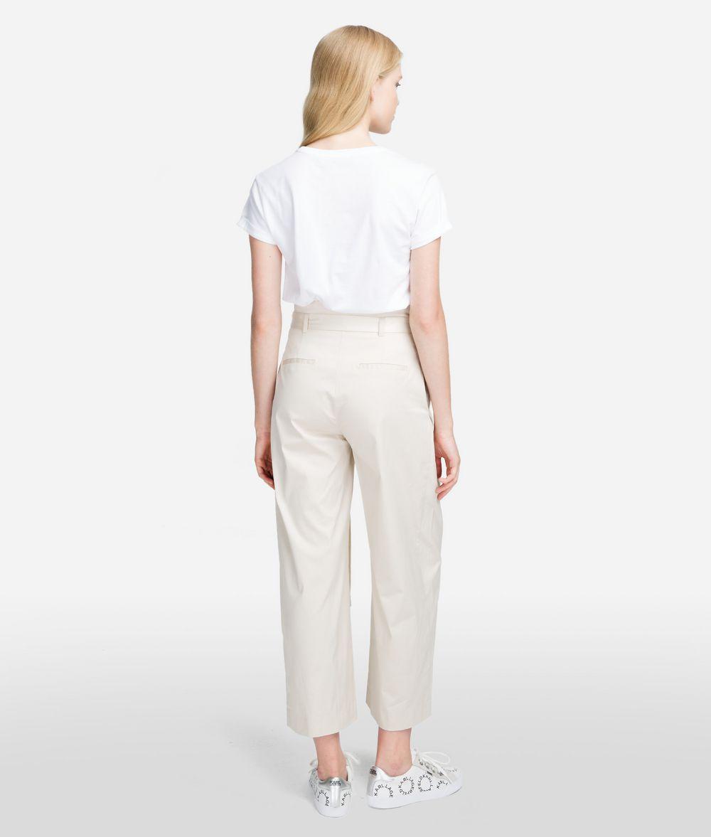 KARL LAGERFELD High-Waist Pants Pants Woman d