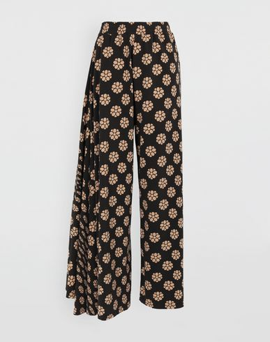 MM6 MAISON MARGIELA Casual pants [*** pickupInStoreShipping_info ***] Polka dot flower-print pants f