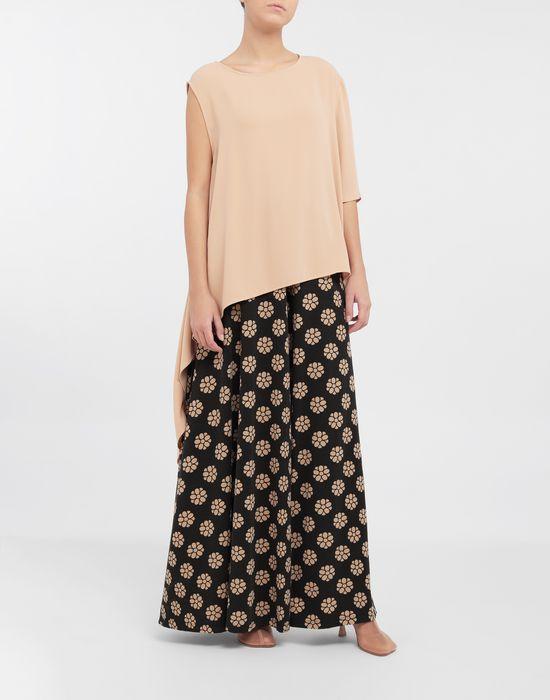 MM6 MAISON MARGIELA Polka dot flower-print pants Casual pants [*** pickupInStoreShipping_info ***] d