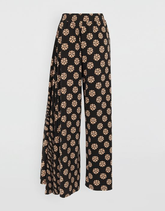 MM6 MAISON MARGIELA Polka dot flower-print pants Casual pants [*** pickupInStoreShipping_info ***] f