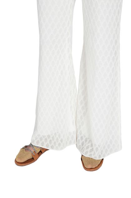 M MISSONI Pants Ivory Woman - Front
