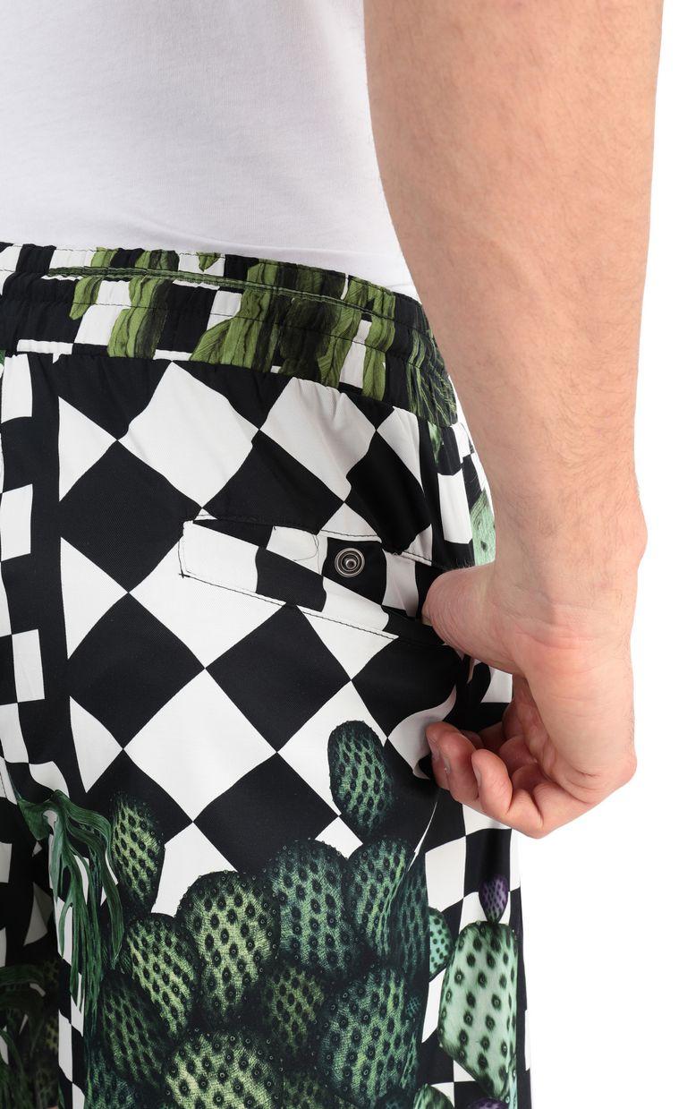 JUST CAVALLI Garden-check shorts Shorts Man e