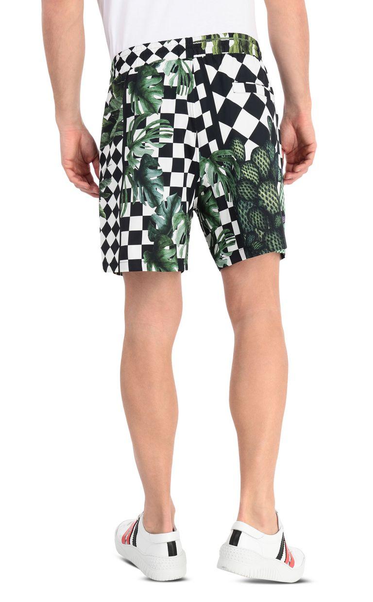 JUST CAVALLI Garden-check shorts Shorts Man r