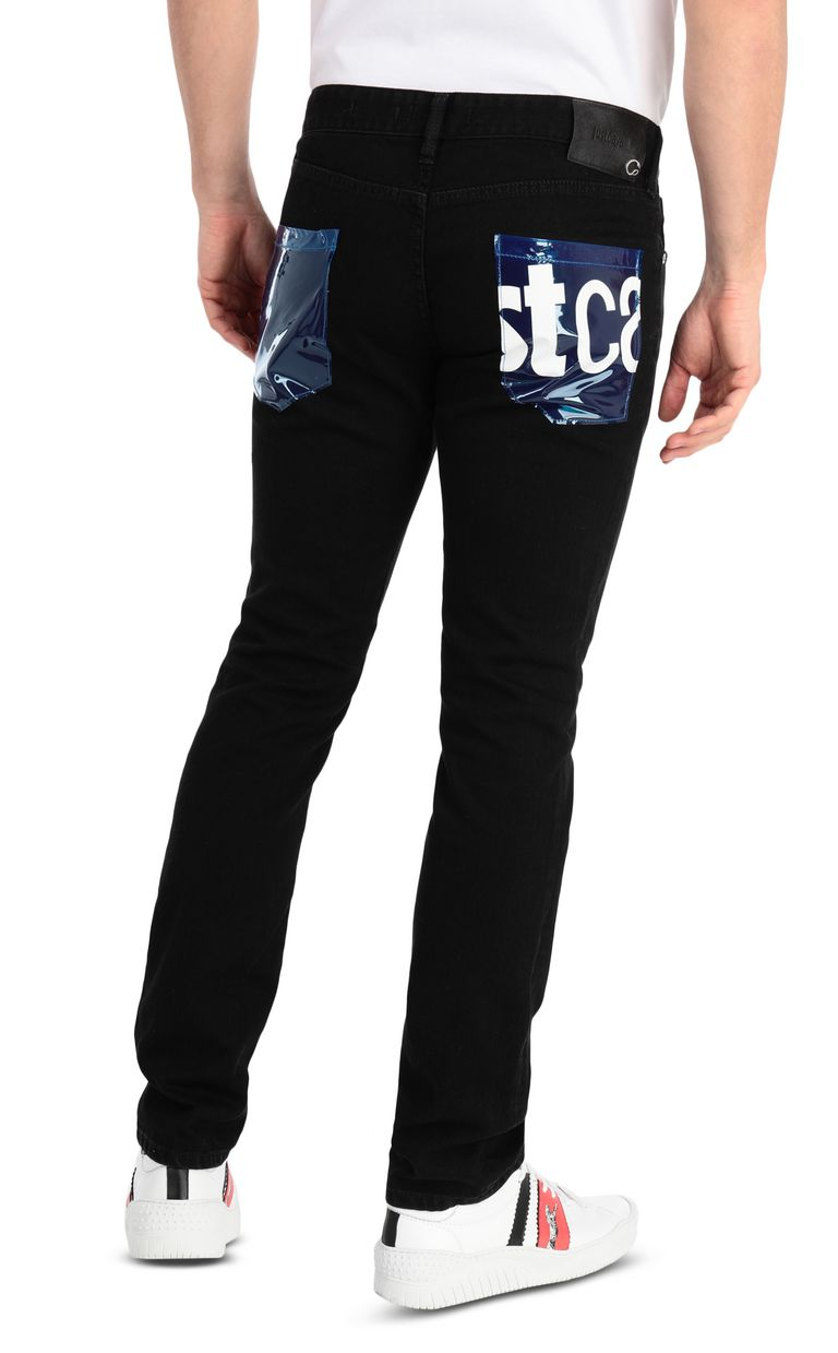 JUST CAVALLI Logoed jeans with a Just fit Jeans Man r