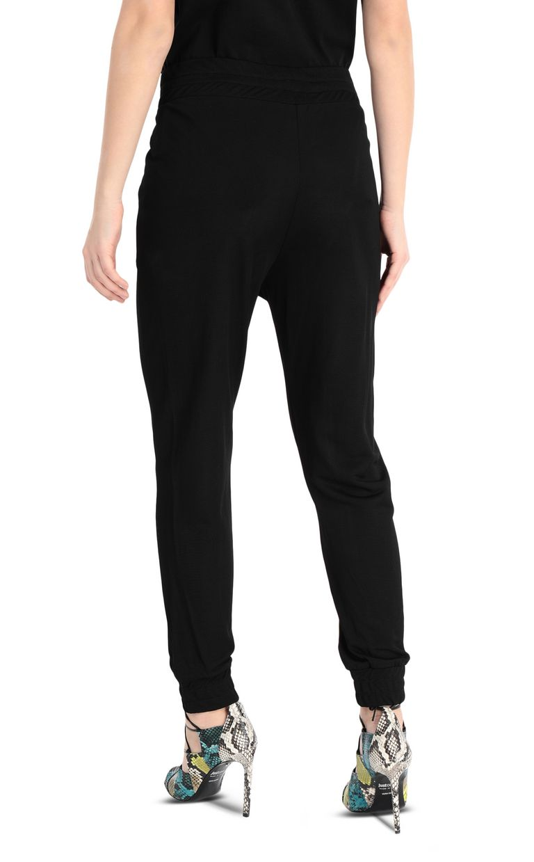 JUST CAVALLI Track trousers with logo band Casual pants Woman r