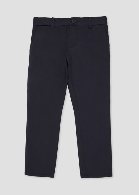 Classic pants in soft cotton