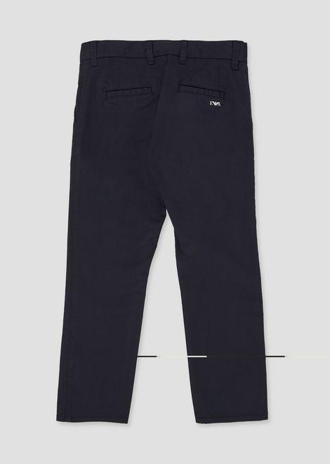 Pantaloni classici in morbido cotone