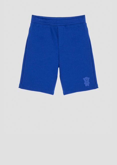Shorts in felpa Manga Bear