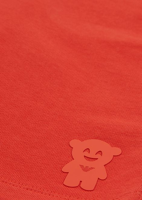 Manga Bear fleece shorts