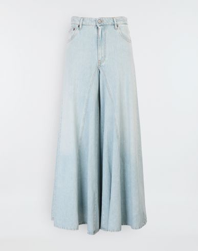 MM6 MAISON MARGIELA Jeans [*** pickupInStoreShipping_info ***] Flared washed denim pants f