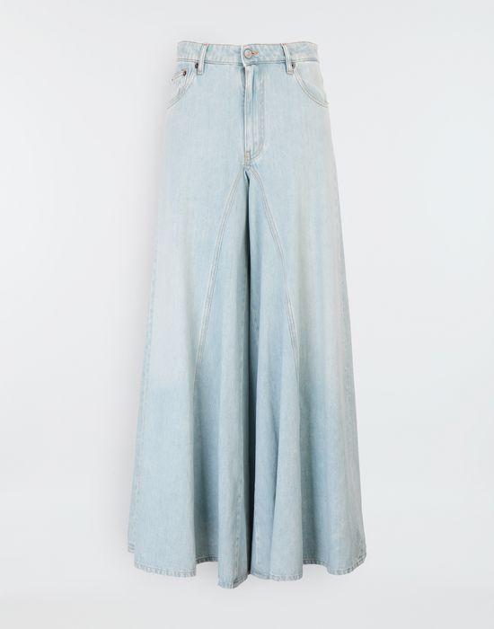 MM6 MAISON MARGIELA Flared washed denim pants Jeans [*** pickupInStoreShipping_info ***] f