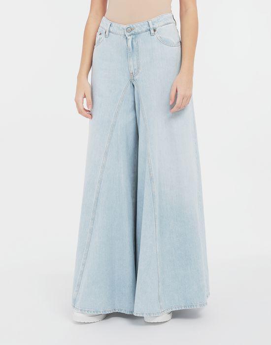 MM6 MAISON MARGIELA Flared washed denim pants Jeans [*** pickupInStoreShipping_info ***] r