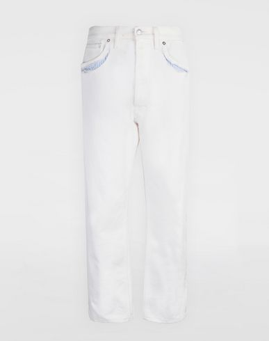 MAISON MARGIELA Jeans [*** pickupInStoreShipping_info ***] Décortiqué denim pants f
