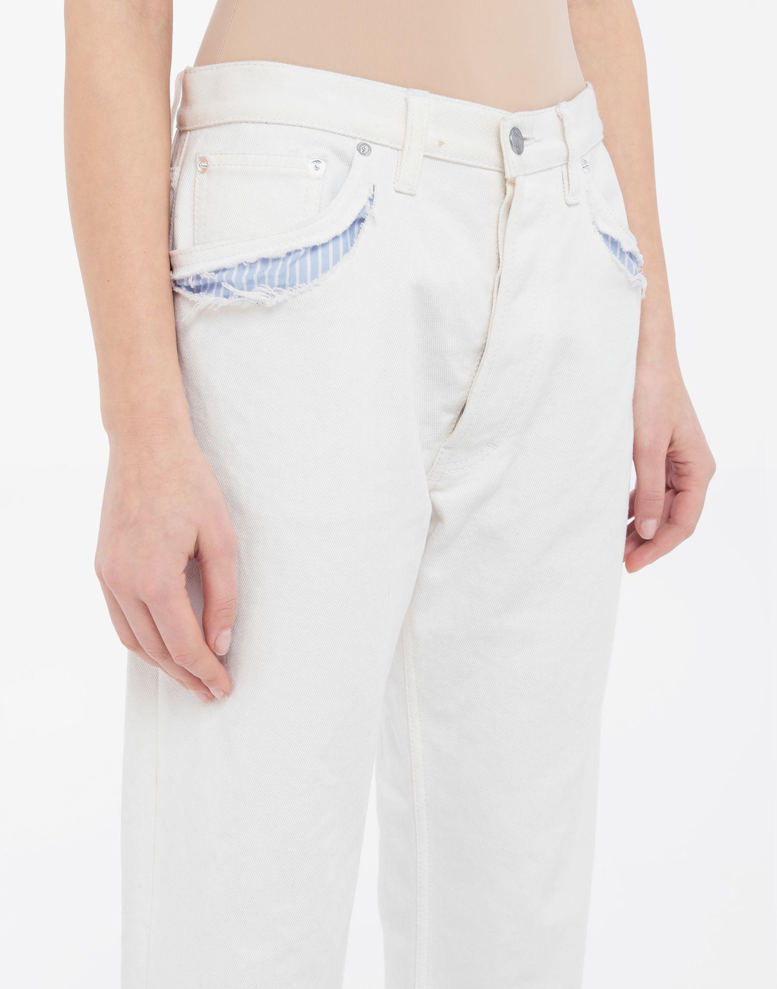 MAISON MARGIELA Décortiqué denim pants Jeans Woman a