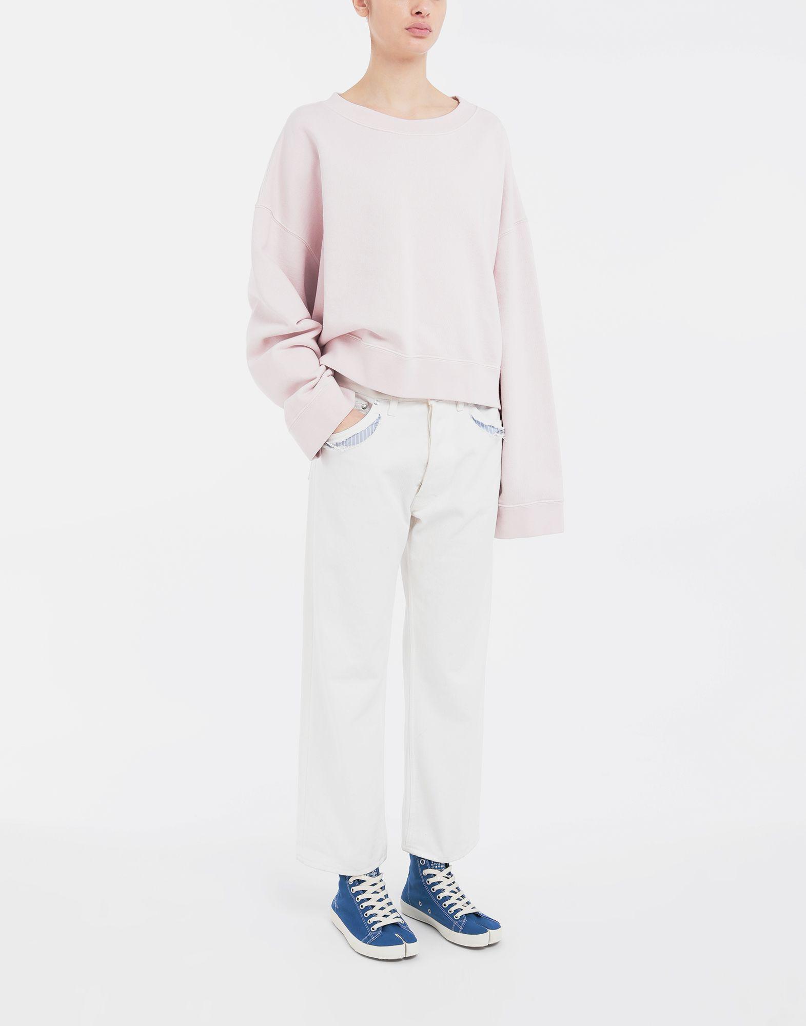 MAISON MARGIELA Décortiqué denim pants Jeans Woman d