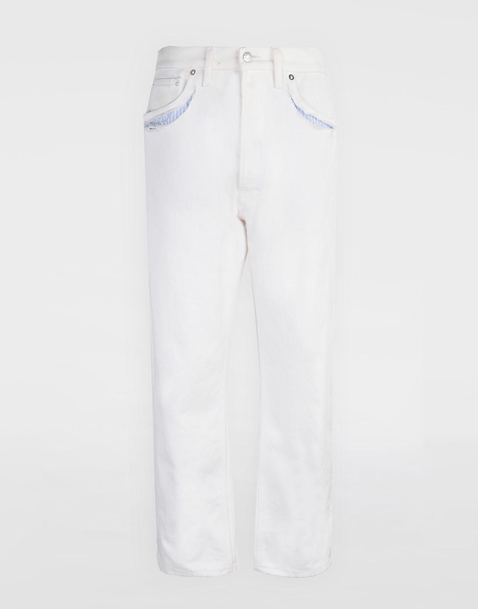 MAISON MARGIELA Décortiqué denim pants Jeans Woman f