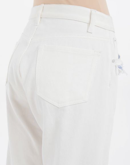 MAISON MARGIELA Décortiqué denim pants Jeans Woman b