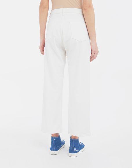 MAISON MARGIELA Décortiqué denim pants Jeans Woman e