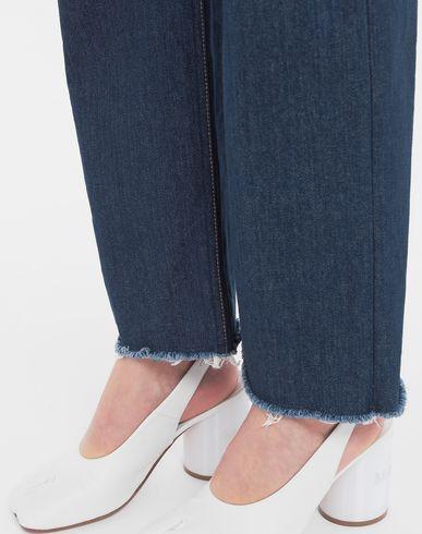 TROUSERS Décortiqué denim pants Blue
