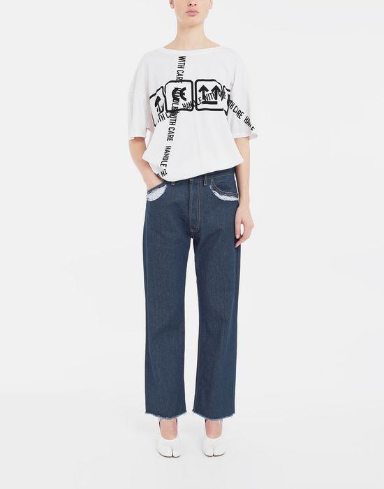 MAISON MARGIELA Décortiqué denim pants Jeans [*** pickupInStoreShipping_info ***] d