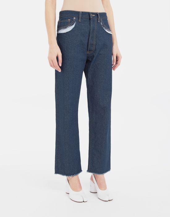 MAISON MARGIELA Décortiqué denim pants Jeans [*** pickupInStoreShipping_info ***] r