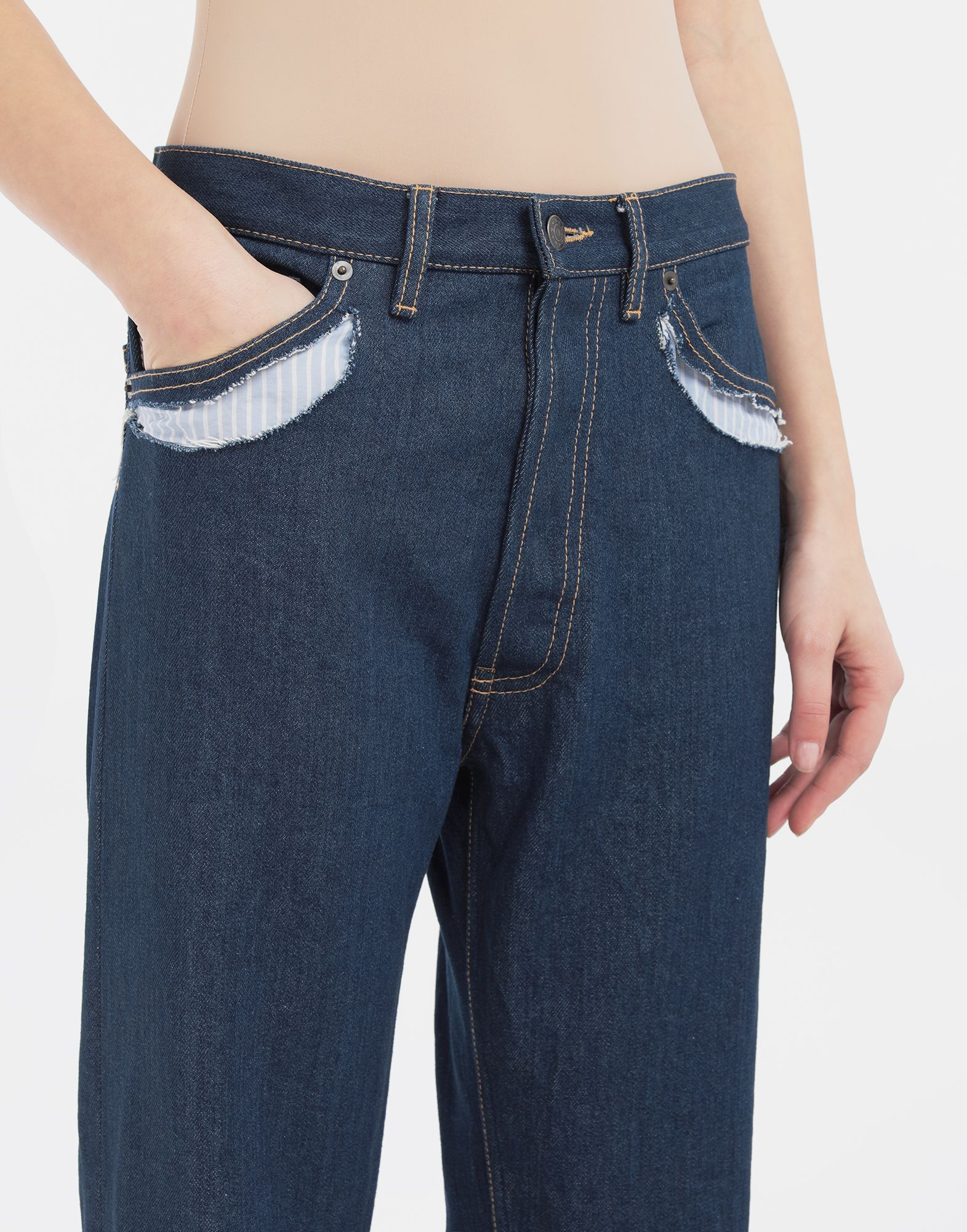 MAISON MARGIELA Décortiqué denim pants Jeans Woman a