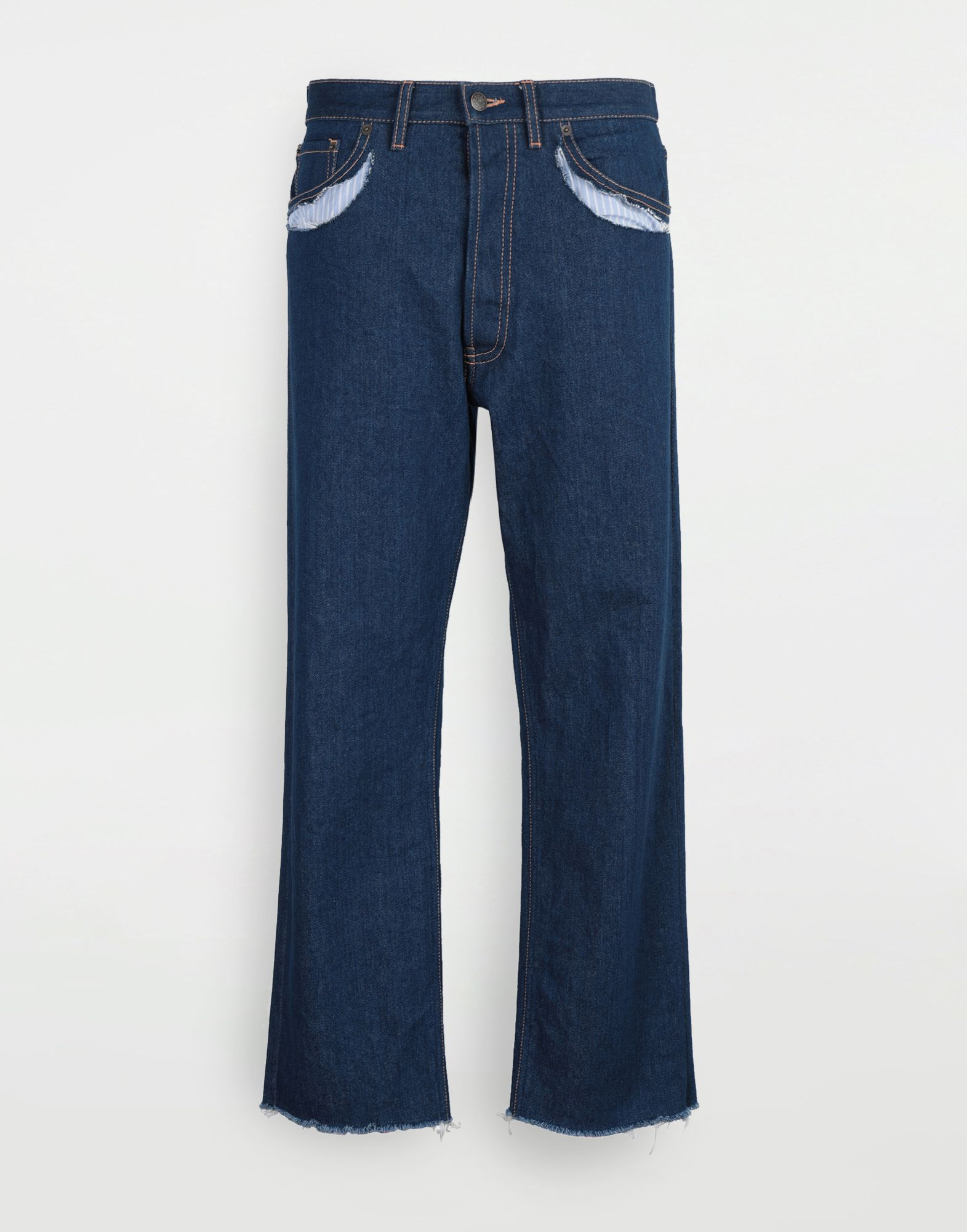 MAISON MARGIELA Décortiqué denim pants Jeans Woman f