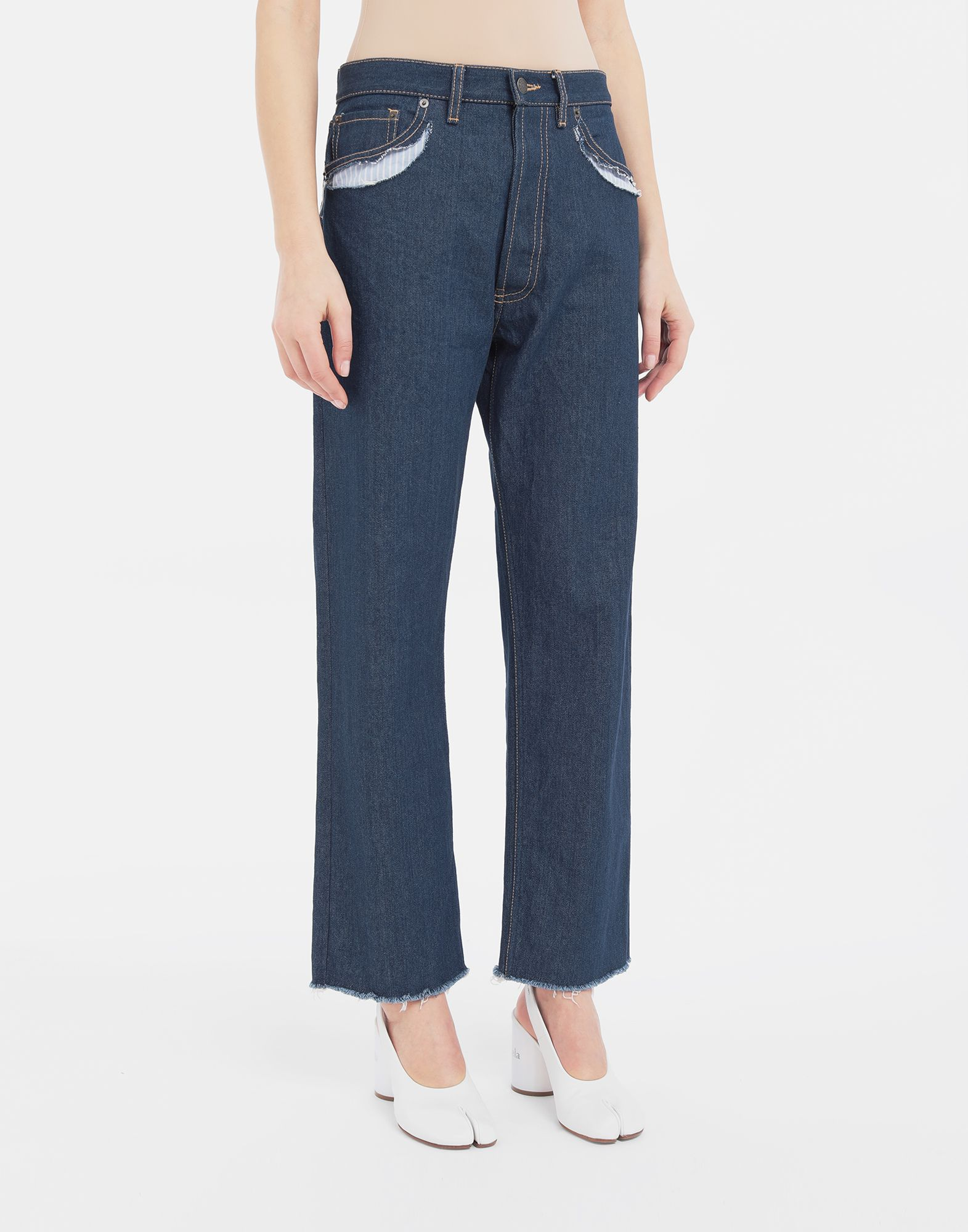 MAISON MARGIELA Décortiqué denim pants Jeans Woman r