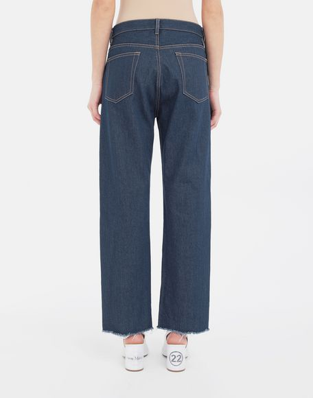MAISON MARGIELA Décortiqué denim pants Jeans Woman e