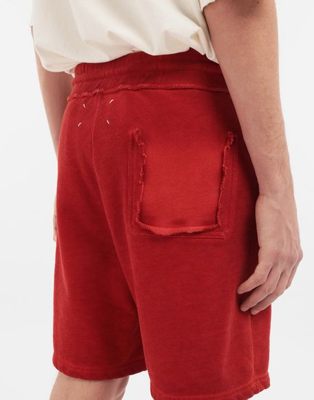 MAISON MARGIELA Drawstring cotton shorts Shorts Man b