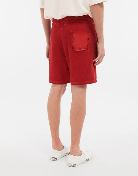 MAISON MARGIELA Drawstring cotton shorts Shorts Man e