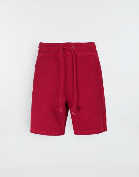 MAISON MARGIELA Drawstring cotton shorts Shorts Man f